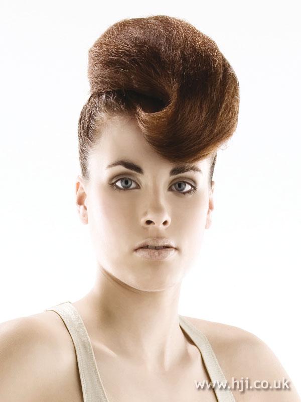 2008 updo curl