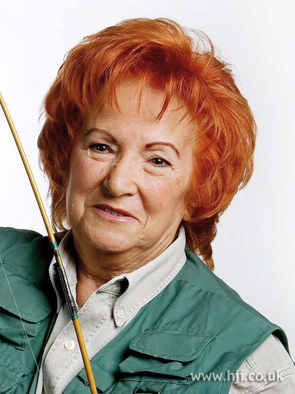 2008 vibrant redhead