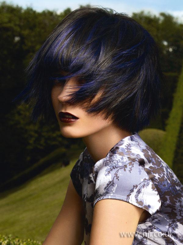 2009 black blue