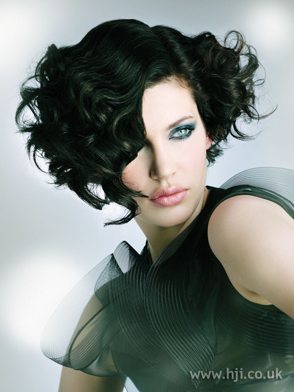 2009 black curls