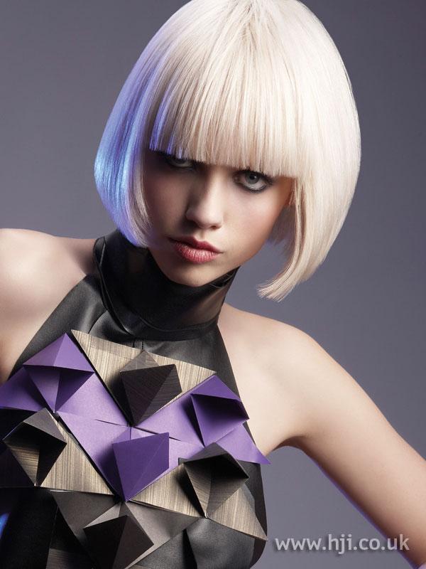 2009 blonde fringe