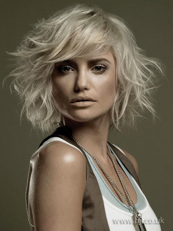 2009 blonde messy