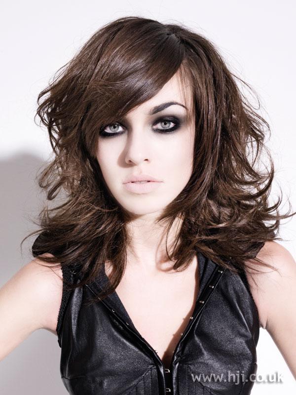 2009 brunette flicks hairstyle