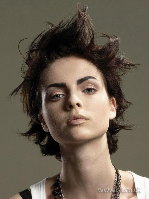 2009 brunette punk