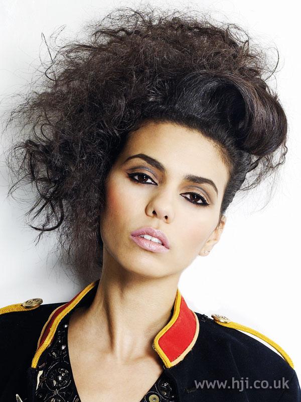 2009 brunette volume hairstyle