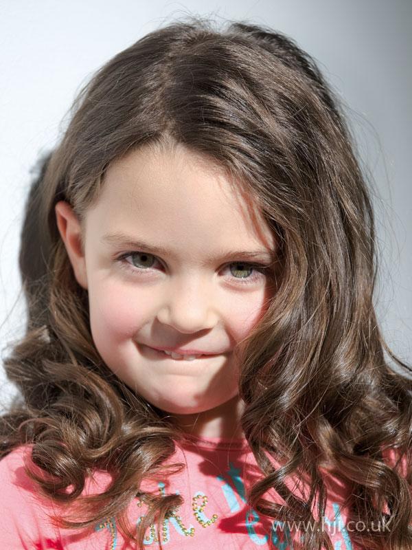 2009 child curls