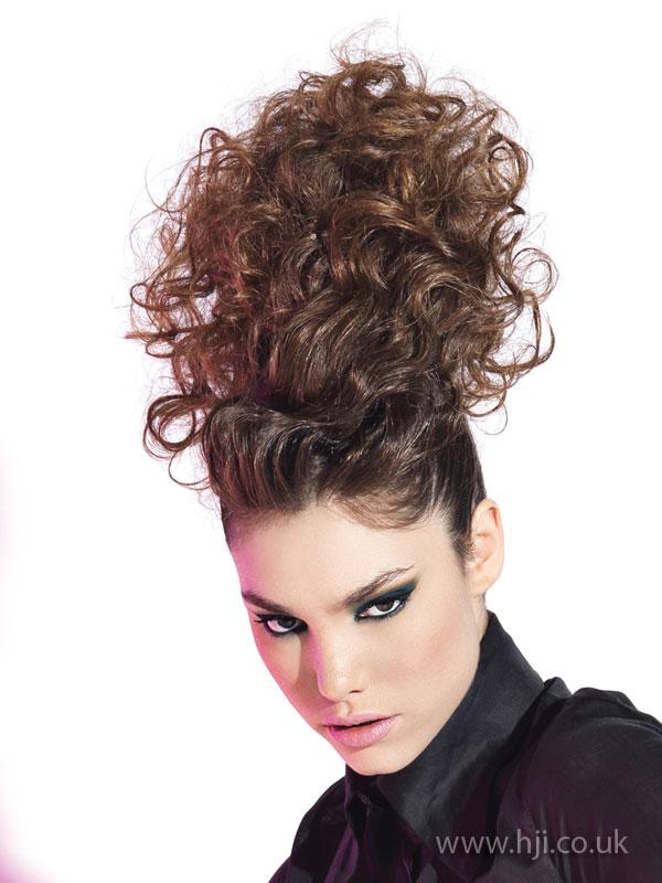 2009 curls updo