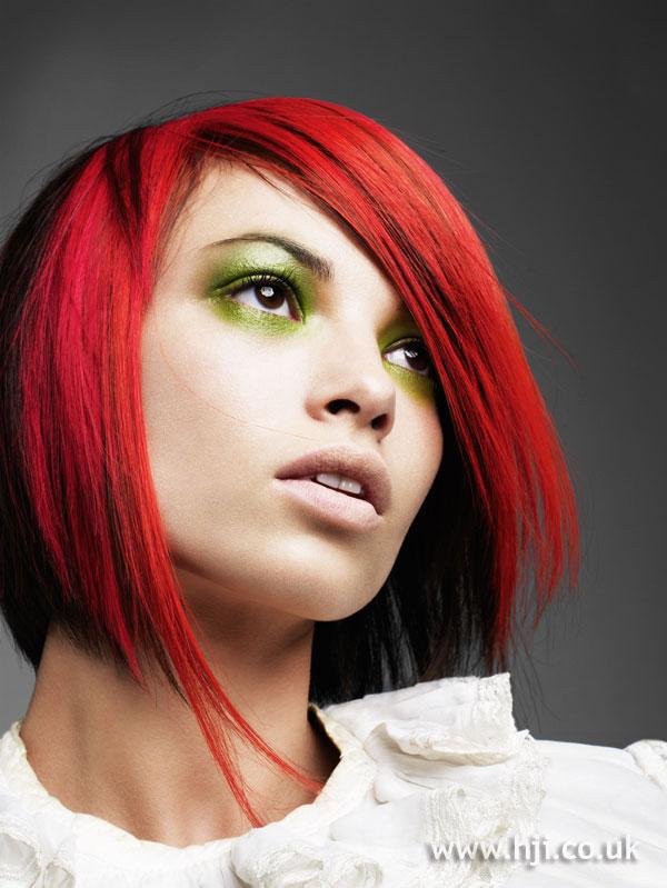 2009 edgy redhead
