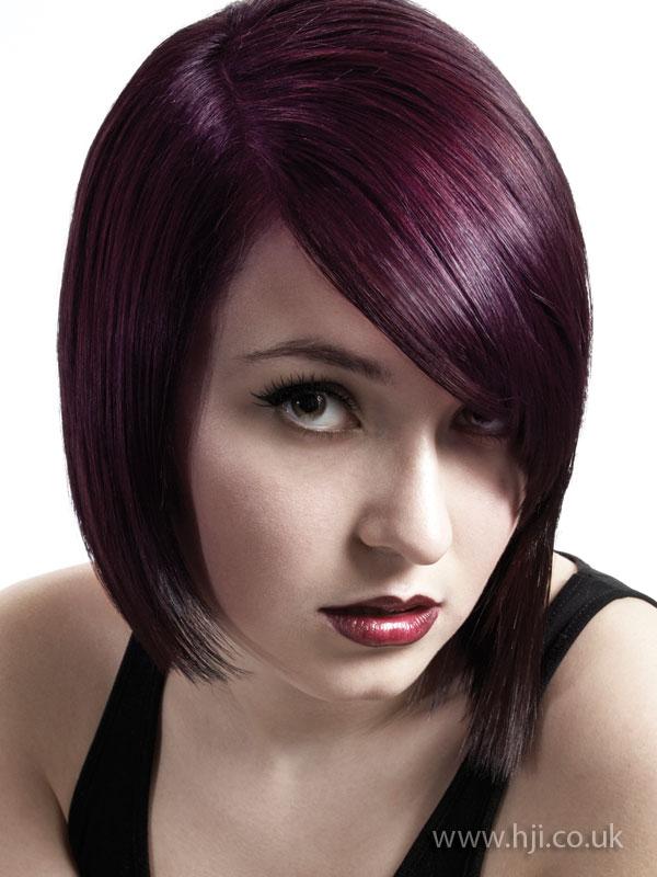 2009 purple bob