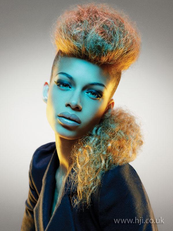2009 quiff textured hairstyle