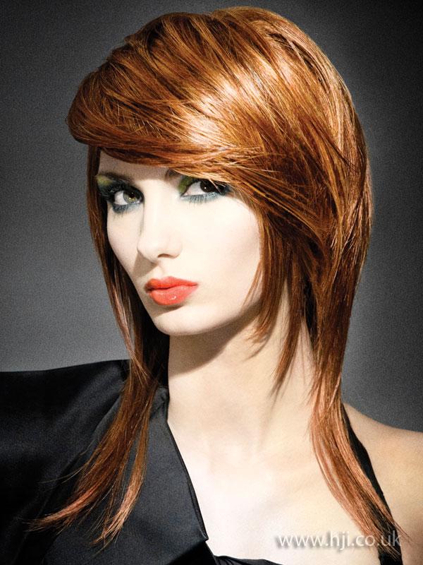 2009 redhead layered
