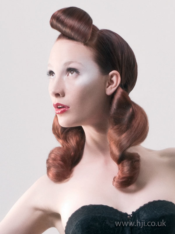 2009 redhead quiff
