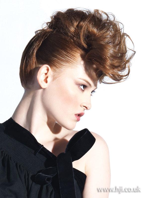 2009 redhead updo