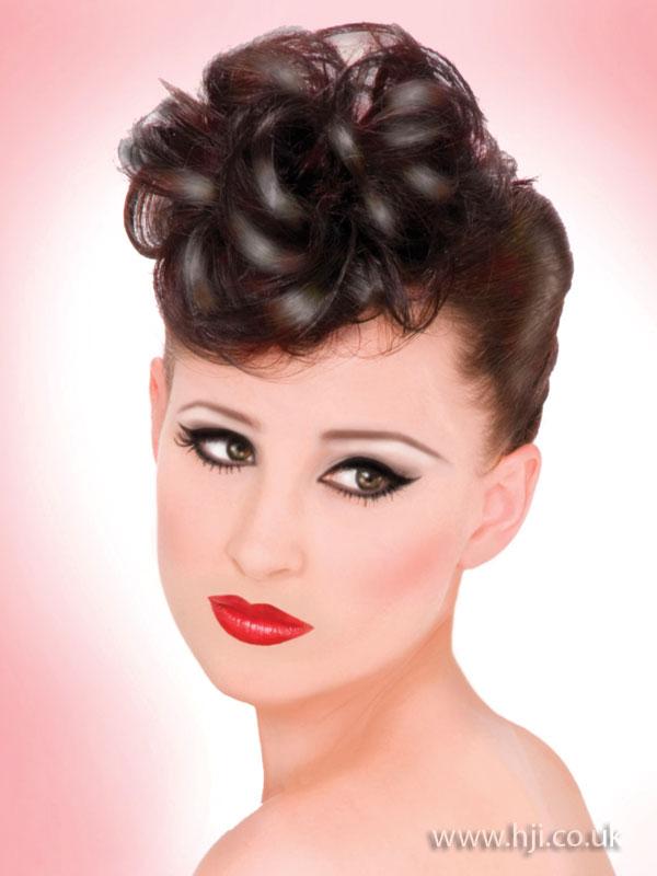 2009 updo curls