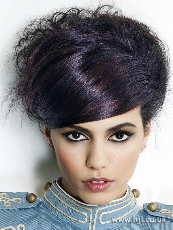2009 updo dark hairstyle