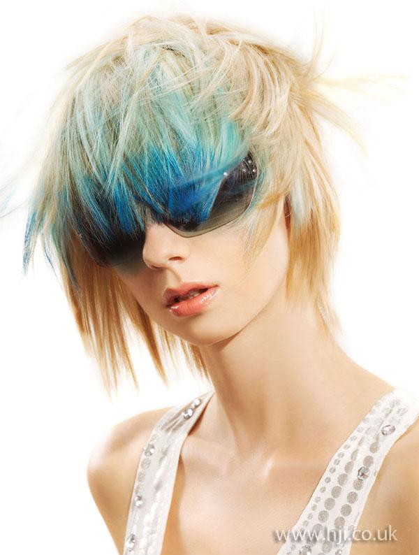 2009 vibrant blue
