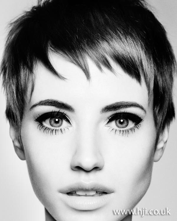 Elfin crop hairstyle- 2011