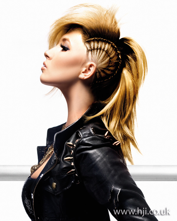 2011 Mohawk long blonde