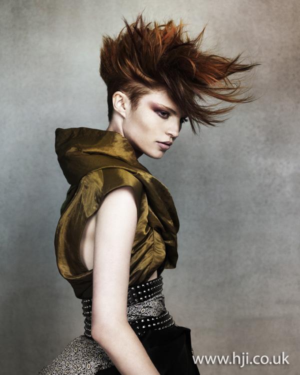 2011 avant garde short