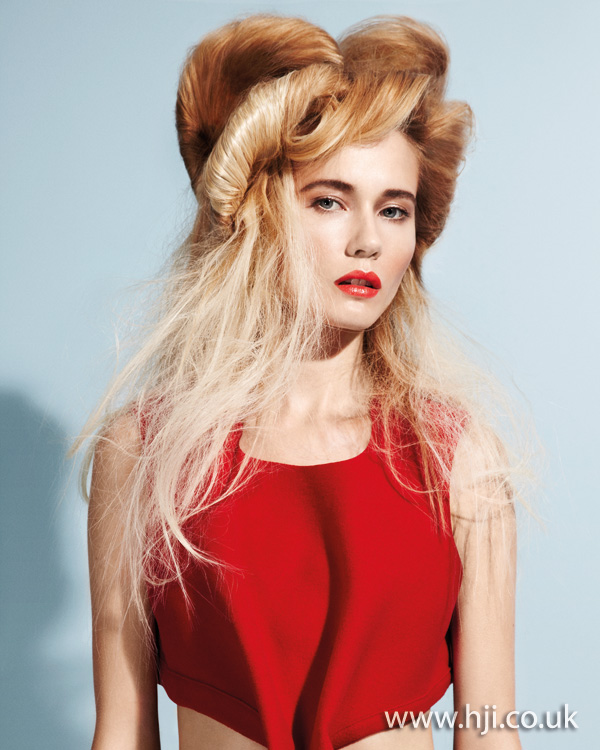 avant garde hairstyle 2011