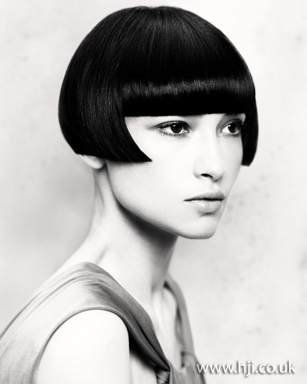Black bob hairstyle 2011