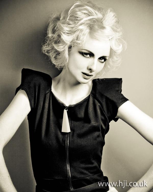 2011 blonde curls