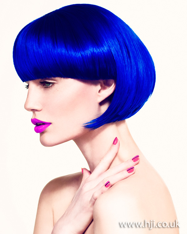 Blue bob by Martin Crean