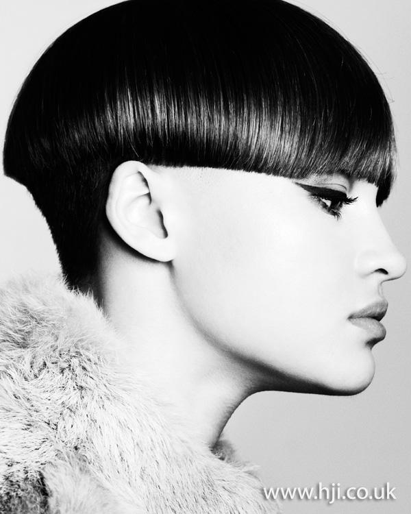 brunette short hairstyle - 2011