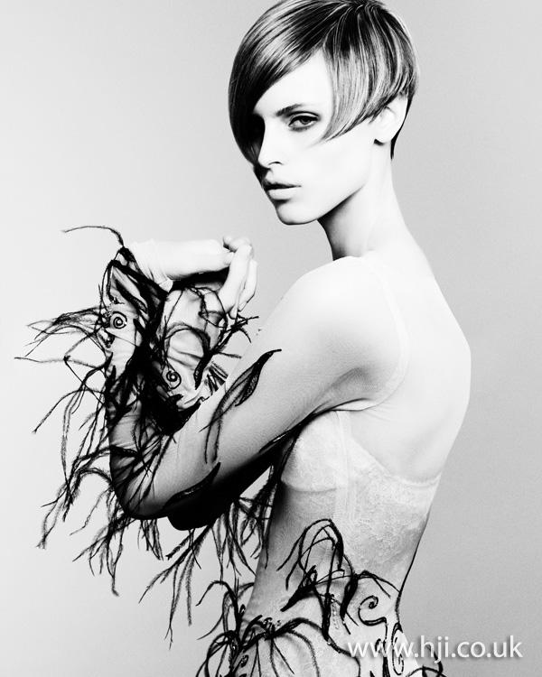 fringe short hairstyle- 2011