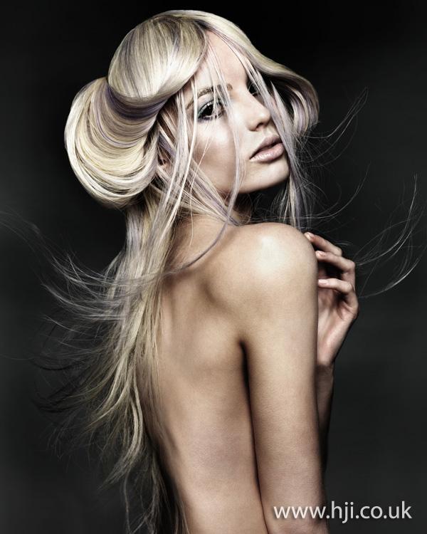 2011 glossy blonde