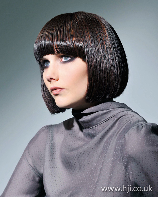 Glossy bob by JAS Hair Group creative team