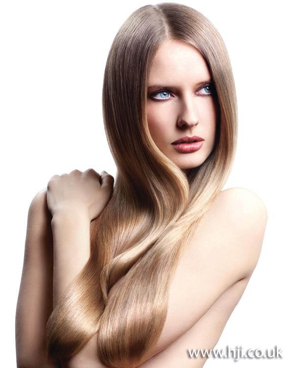 2011 long blonde