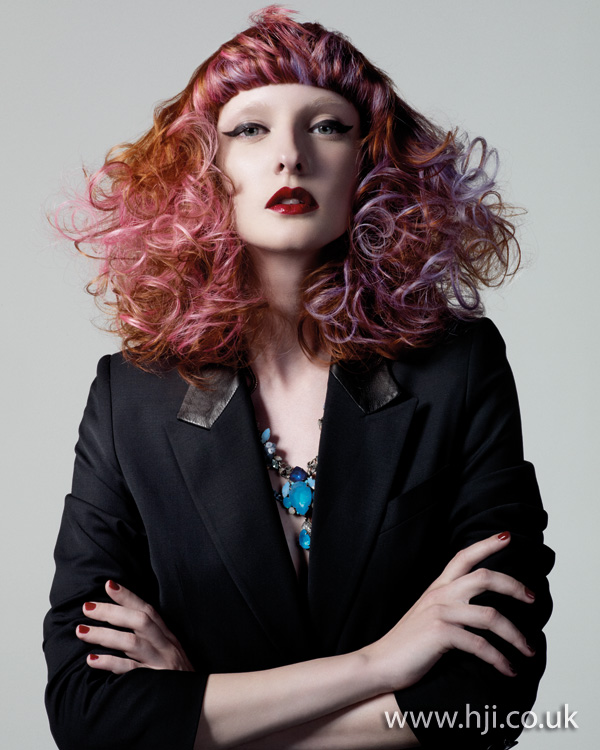 multi-colour curls from 2011
