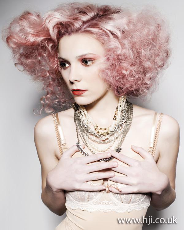 2011 pink curls
