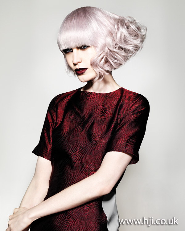 2011 pink tint hairstyle