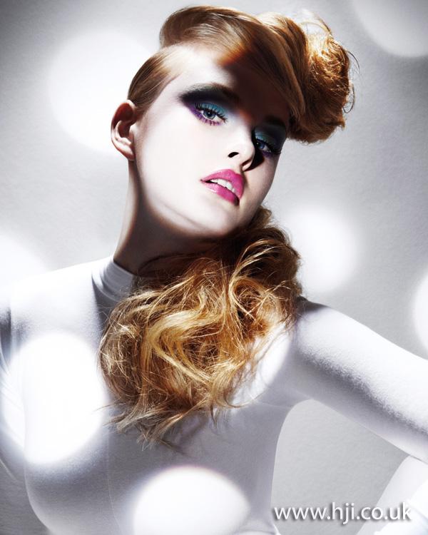 2011 ponytail quiff