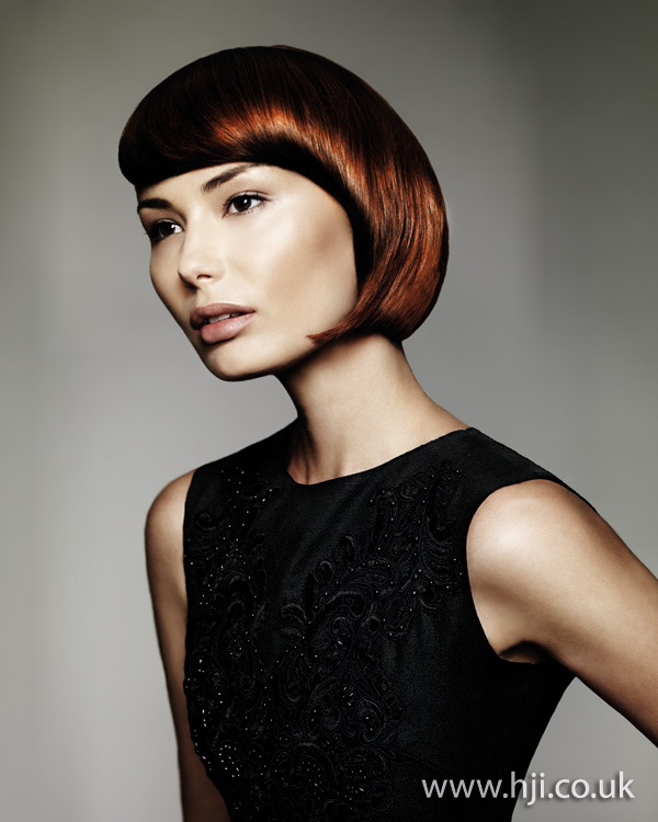 red round bob hairstyle 2011