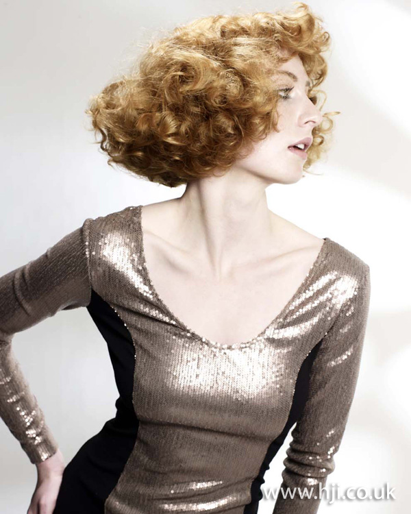 redhead curls hairstyle - 2011