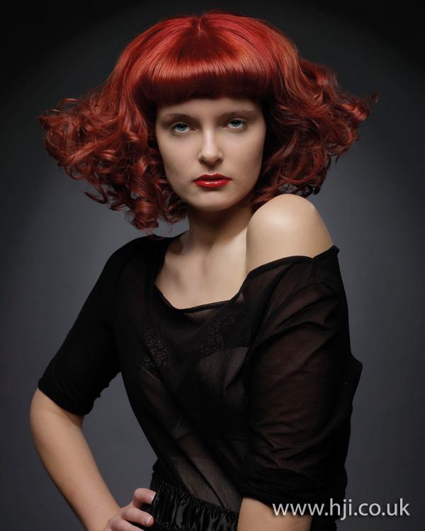 2011 redhead glossy