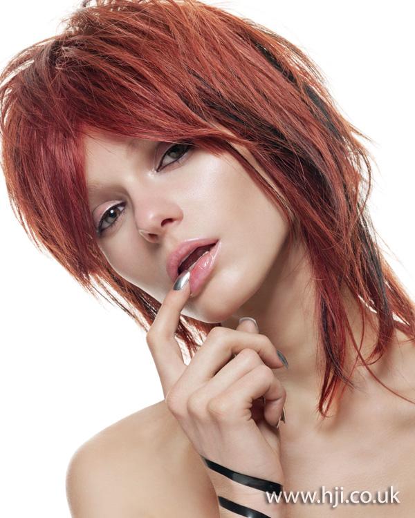 2011 redhead messy