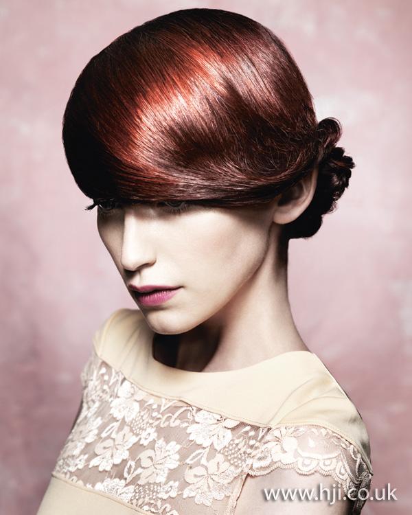 2011 redhead updo1