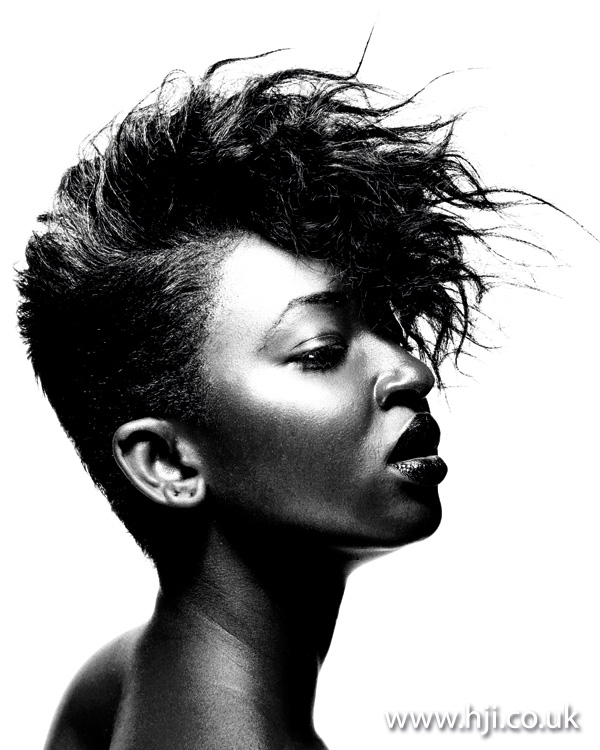 short textured hairstyle from 2011