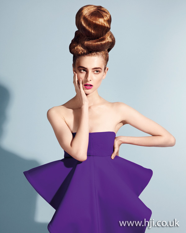 2011 updo abstract