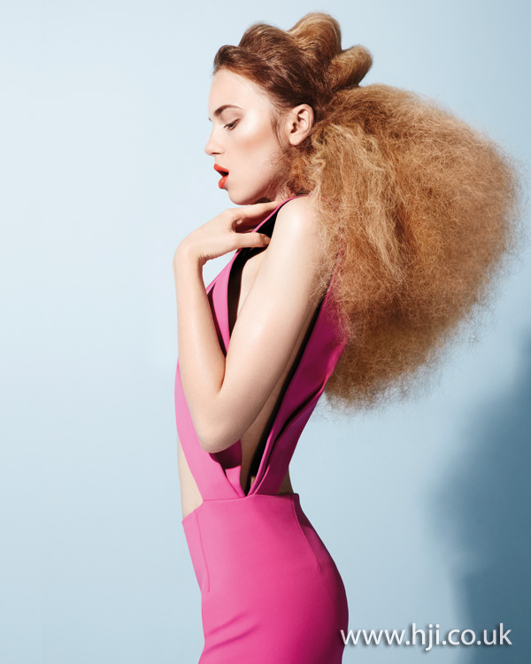 volume abstract hairstyle - 2011