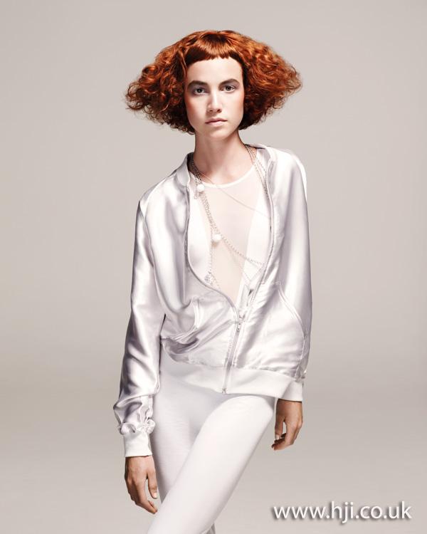 volume shape hairstyle 2011