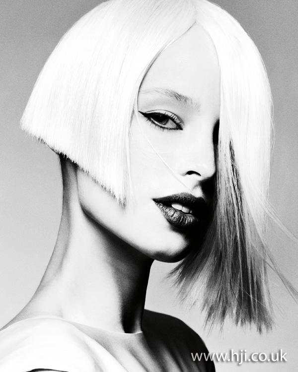 2012 asymmetric bob womens hairstyle