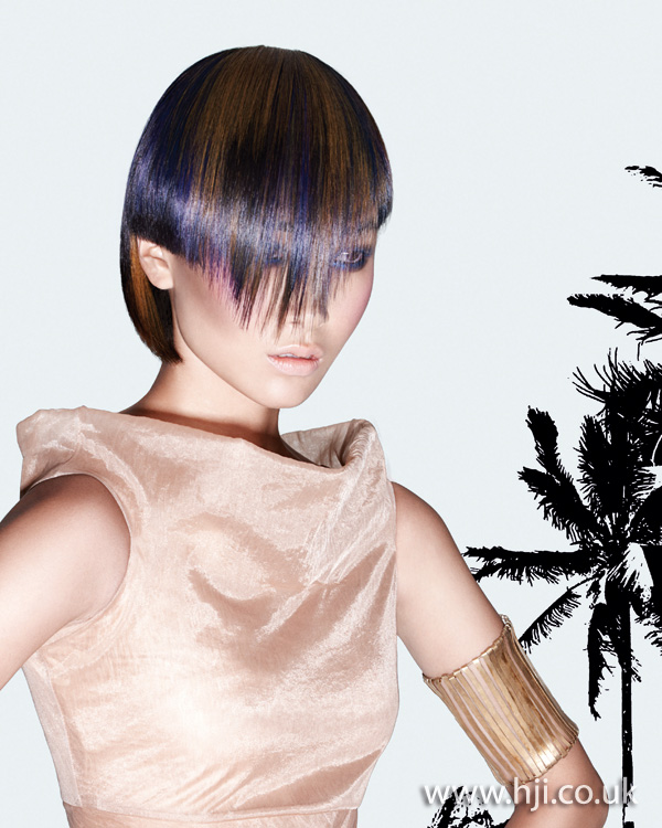 2012 asymmetric fringe womens hairstyle1