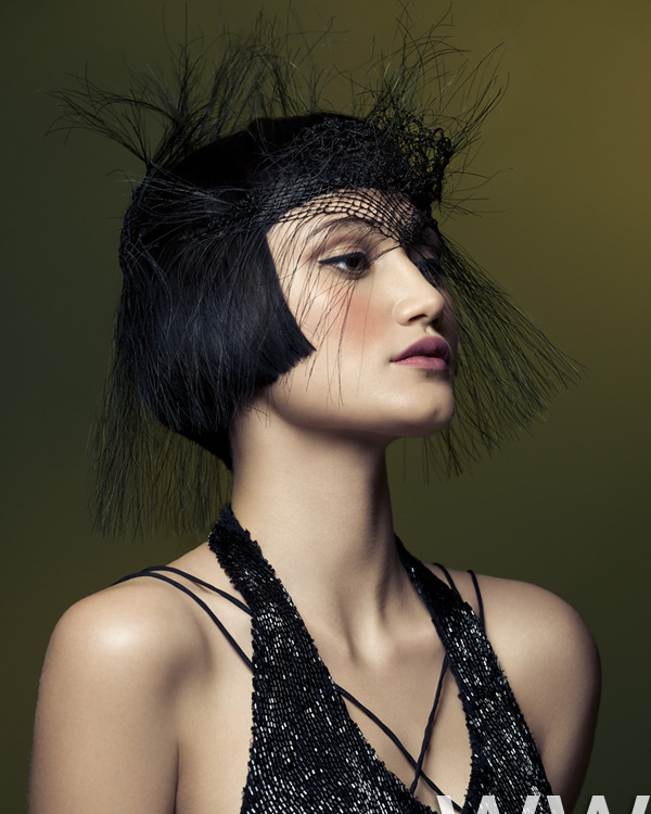 2012 avant garde black bob womens hairstyle