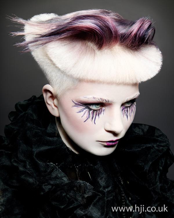 2012 avant garde creative colour hairstyle
