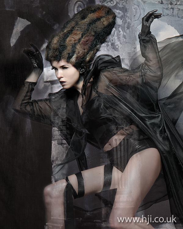 2012 avant garde hairstyle womens